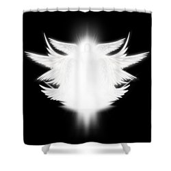 Archangel Shower Curtain