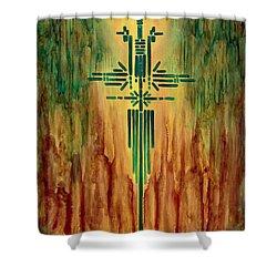 Archangel Michael Shower Curtain