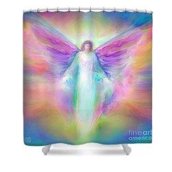 Archangel Raphael Healing Shower Curtain