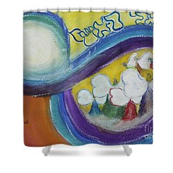 Archangels Shower Curtain