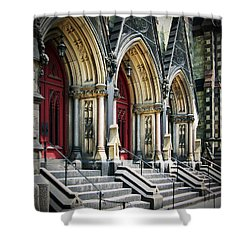 Arched Doorways Shower Curtain by Brian Wallace