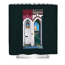 Door One And Door Too Shower Curtain