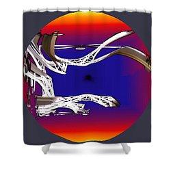 Arches 2 Shower Curtain by Tim Allen