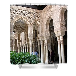 Arches And Columns Granada Shower Curtain