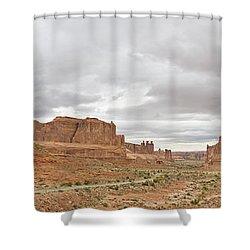 Arches Entry Shower Curtain