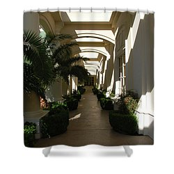 Shower Curtain featuring the photograph Arches by John Schneider