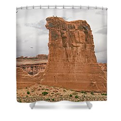 Arches La Sal Viewpoint 1 Shower Curtain
