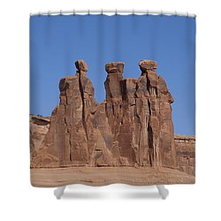 Arches National Park Shower Curtain by Cynthia Powell