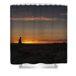 Arches National Park Sunset Shower Curtain