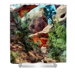 Arches National Park Trail Shower Curtain