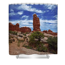 Arches Scene 4 Shower Curtain