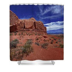 Arches Scene1 Shower Curtain