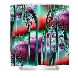 Arches Shower Curtain by Tim Allen