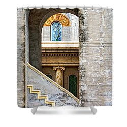 Arches Within Arches Shower Curtain by Christopher Holmes
