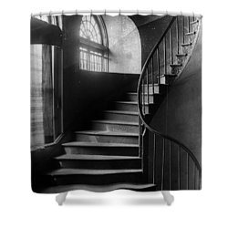 Arching Stairwell Shower Curtain