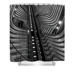 Architectural Beauty Shower Curtain