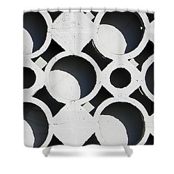 Architectural Detail Eight Shower Curtain