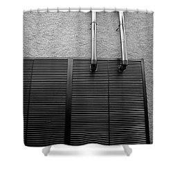 Architectural Elements Shower Curtain by Gaspar Avila