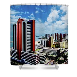 Architecture And Building Shower Curtain