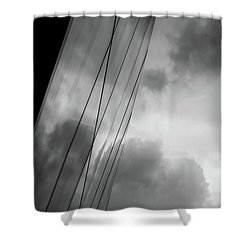 Architecture And Immorality Shower Curtain