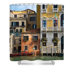Architecture Of Venice - Italy Shower Curtain