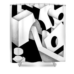 Archtectonic 11 Shower Curtain