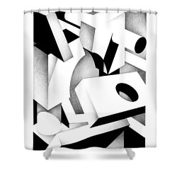 Archtectonic 2 Shower Curtain