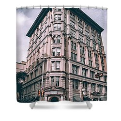 Archtectural Building 3 Shower Curtain