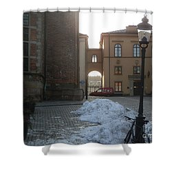 Archway In Stockholm Shower Curtain