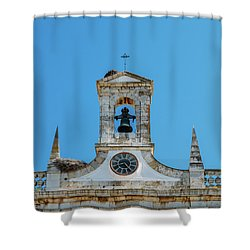 Arco De Vila, Faro, Algarve, Portugal Shower Curtain
