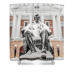Arctic Abe Shower Curtain by Todd Klassy