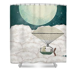 Arctic Explorers Shower Curtain