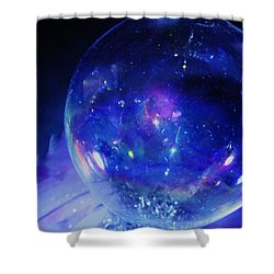 Arctic Orb Shower Curtain