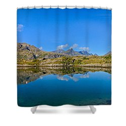 Arctic Reflections Shower Curtain