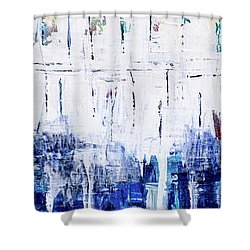 Arctic Spring Shower Curtain