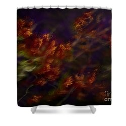 Shower Curtain featuring the digital art Ardor by Amyla Silverflame