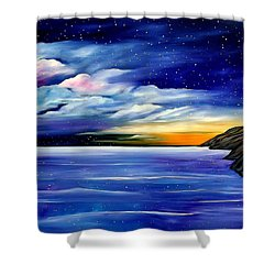 Are The Stars Out Tonight Shower Curtain