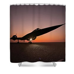 Area 71 Dark Seduction Shower Curtain