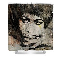 Aretha Franklin - Don't Play That Song For Me  Shower Curtain