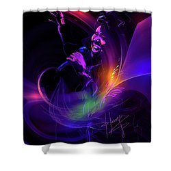 Aretha Franklin, Queen Of Soul Shower Curtain