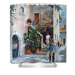 Arezzo-3 Shower Curtain