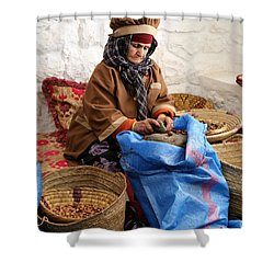 Shower Curtain featuring the photograph Argan Oil 3 by Andrew Fare