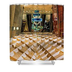Aria High Limit Lounge Entrance Shower Curtain