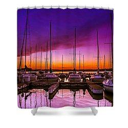Ariana's Sunset Shower Curtain