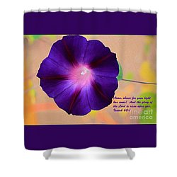 Arise Shower Curtain