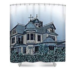 Aristocrat 2 Shower Curtain by Megan Dirsa-DuBois