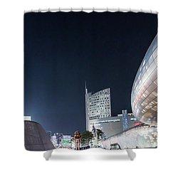 Aritficial Daylight Shower Curtain by Hyuntae Kim