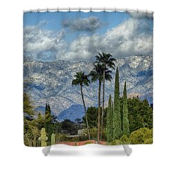 Arizona Snow Shower Curtain