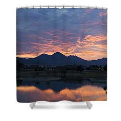 Arizona Sunset 2 Shower Curtain