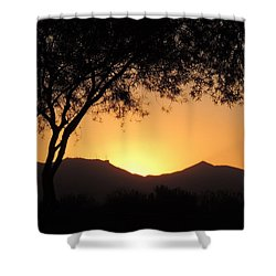 Arizona Sunset Shower Curtain